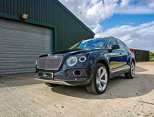 Bentley outside OCD car detailing studio