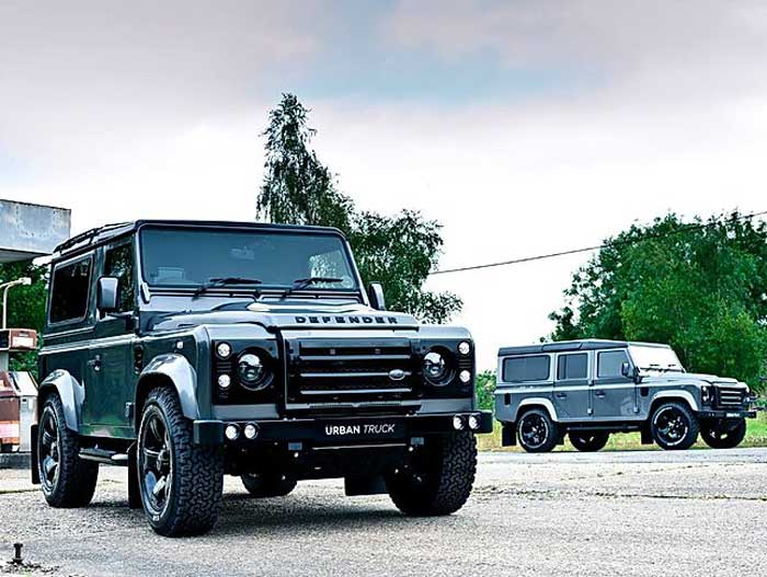 OCD car detailing didcot photograph of Defender