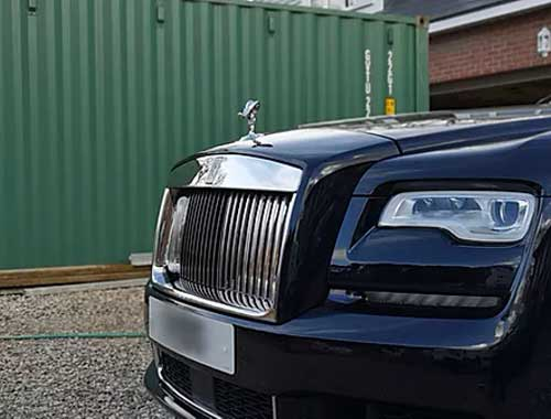 Rolls Royce out side our Car detailing studio in Oxfordshire